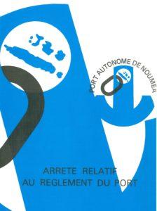 Arrêté n°70-352 relatif au règlement du port de Nouméa